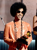LOS ANGELES, CA - FEBRUARY 08: Musician Prince speaks onstage during The 57th Annual GRAMMY Awards at the at the STAPLES Center on February 8, 2015 in Los Angeles, California. (Photo by Kevork Djansezian/Getty Images) *** Local Caption *** Prince