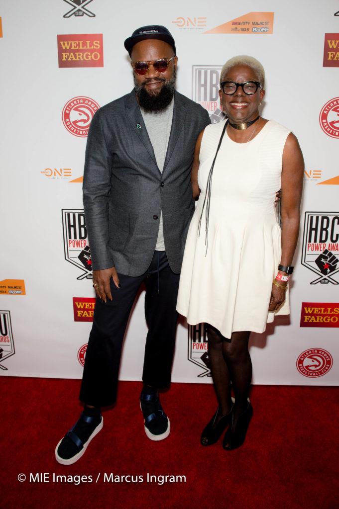 Coltrane Curtis and mom Gail Curtis