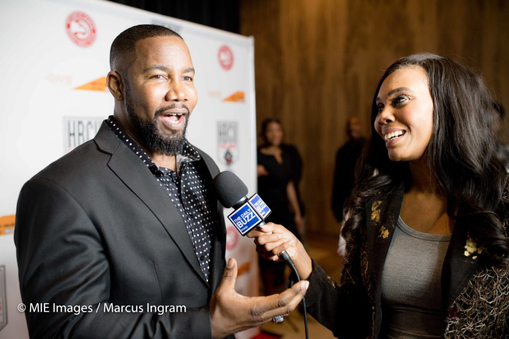 Michael Jai White on carpet