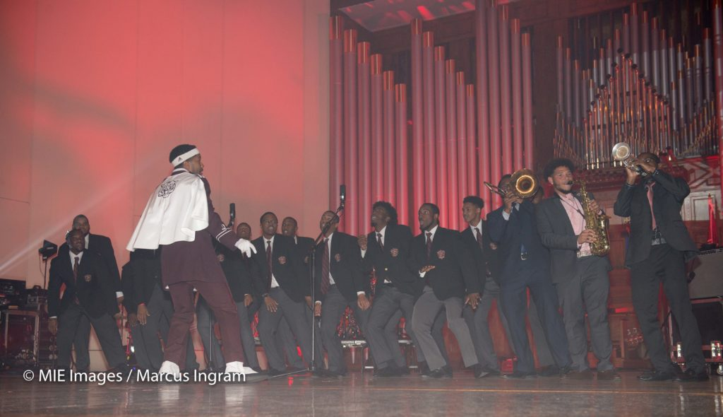 Swag Surfin number with Morehouse Glee Club and Horns