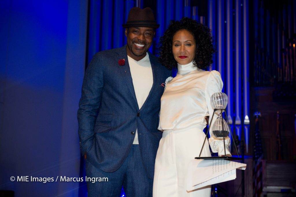 presenter Will Packer and honoree Jada Pinkett Smith
