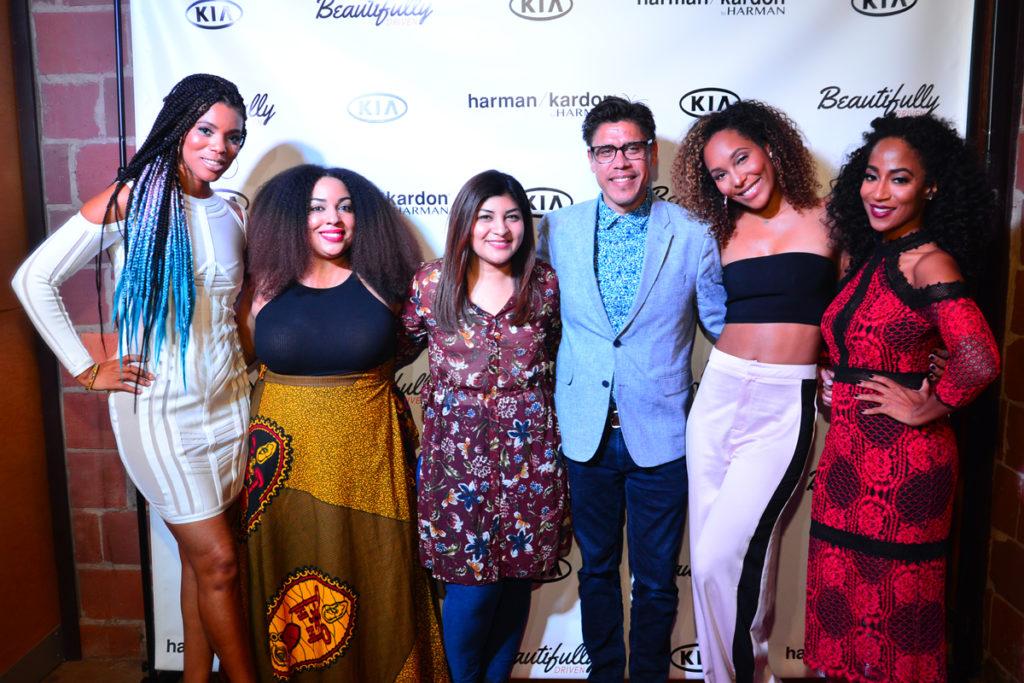 Kimberly Lachelle, Africa Miranda, India Shawn (Music Artist), Chantae Cann (Music Artist), Nadia Hernandez, John Dominquez(Kia Motors) (5)