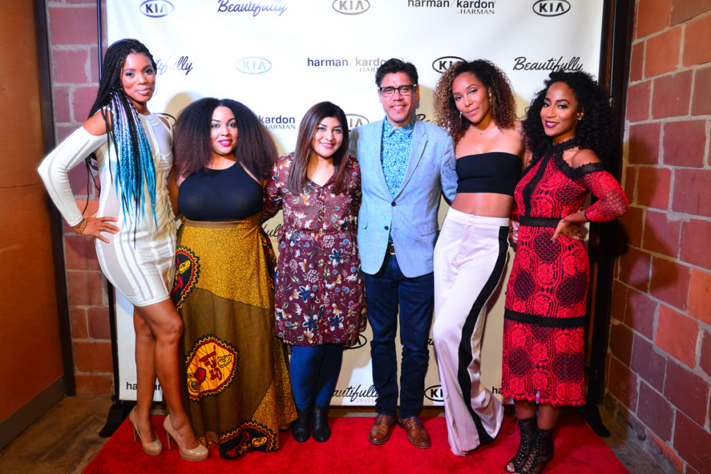 Kimberly Lachelle, Africa Miranda, India Shawn (Music Artist), Chantae Cann (Music Artist), Nadia Hernandez, John Dominquez(Kia Motors) (6)