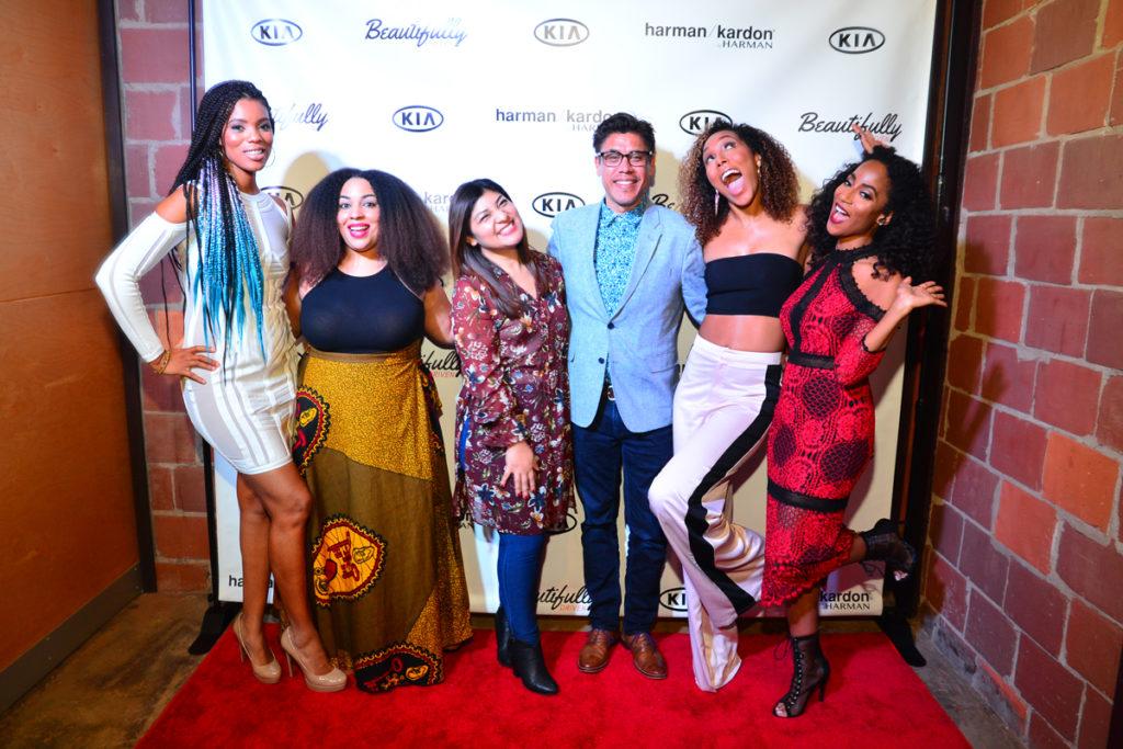 Kimberly Lachelle, Africa Miranda, India Shawn (Music Artist), Chantae Cann (Music Artist), Nadia Hernandez, John Dominquez(Kia Motors) (9)