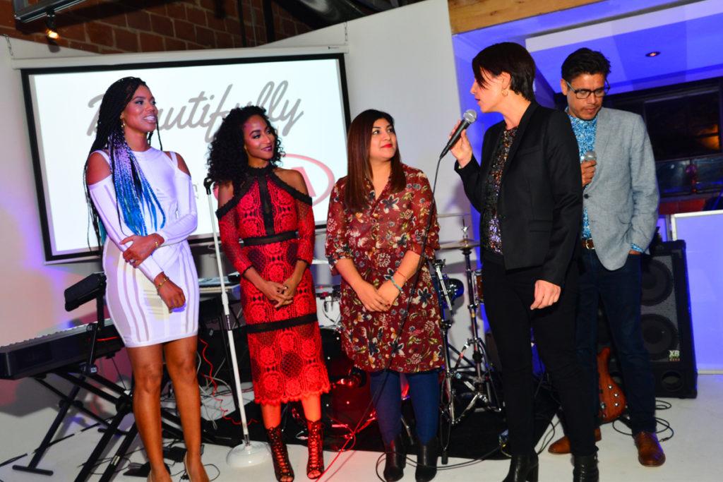 Kimberly Lachelle, Africa Miranda,Nadia Hernandez, John Dominquez(Kia Motors), Caroline Fratacci (Harman) (2)