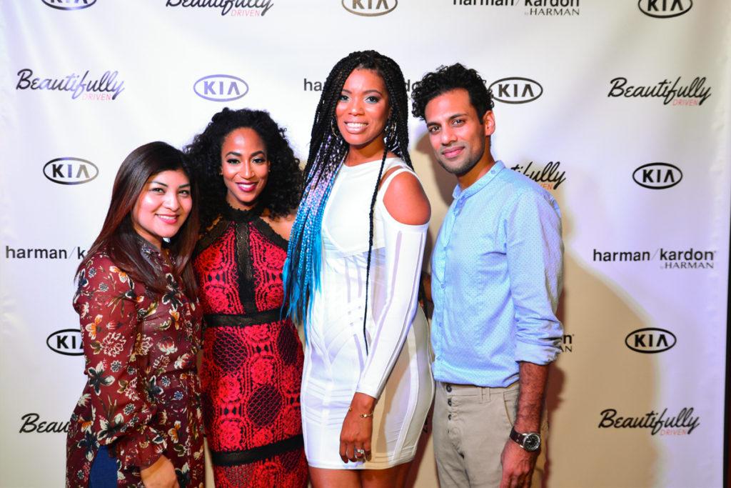 Nadia Hernandez (Kia Moters),Kimberly Lachelle, Africa Miranda, Nick Chahwala (Bravo Oceon Ceo) (2)