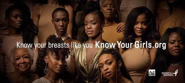 "Vanessa Bell Calloway, June Ambrose, Regina Hall, Alicia Keys & More Support Susan G. Komen & the Ad Council's ""Know Your Girls"" Campaign Targeting Black Women"