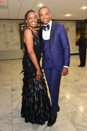 Erika Alexander and Rashad Burgess