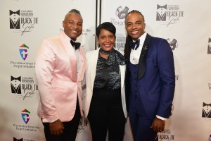 Oliver Clyde Allen, Keisha Lance Bottoms and Rashad Burgess