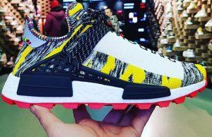 "Pharrell Williams x adidas NMD Hu ""Solar Pack"""